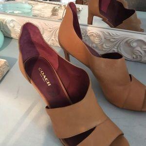 New Coach heels